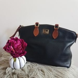 Dooney & Bourke all weather pebble leather bag